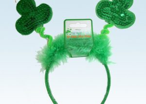 St. Patrick Shamrock Bopper Headband