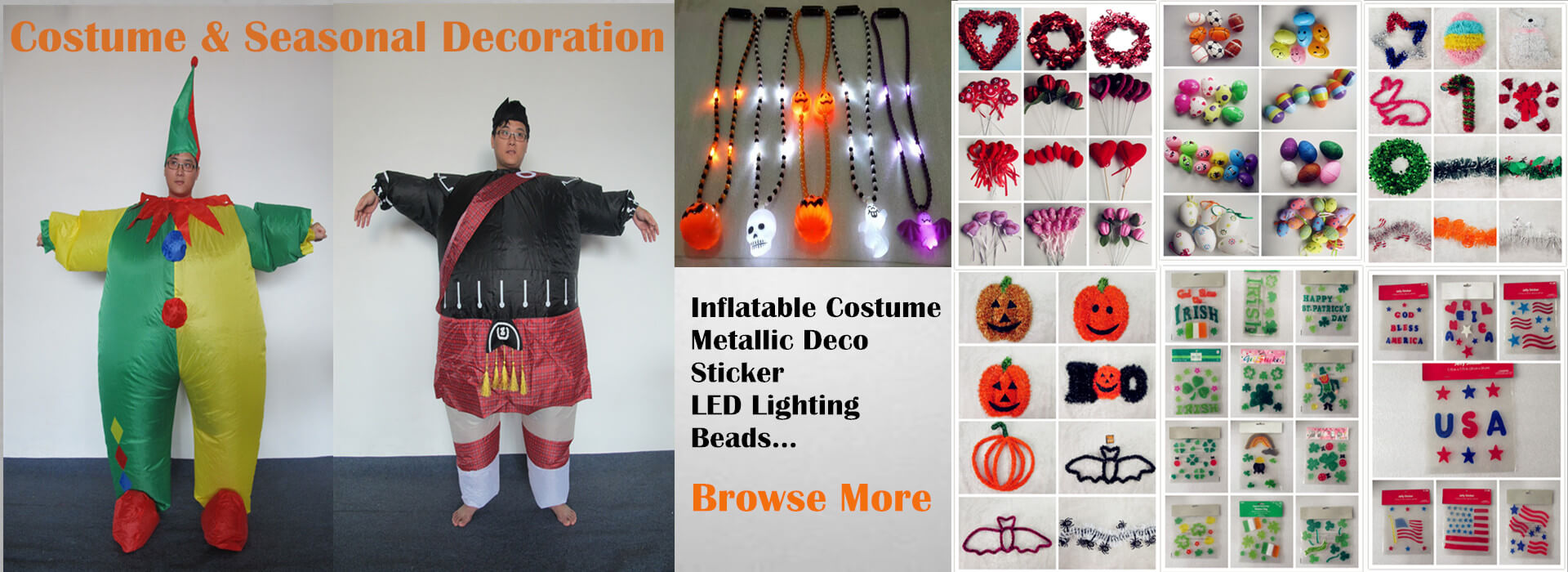 Costume and Seasonal Decoration