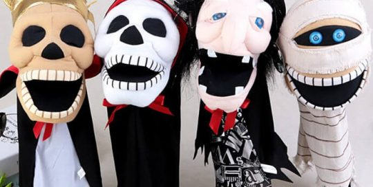 halloween hand puppet toys party favor costume accessories halloween novelty