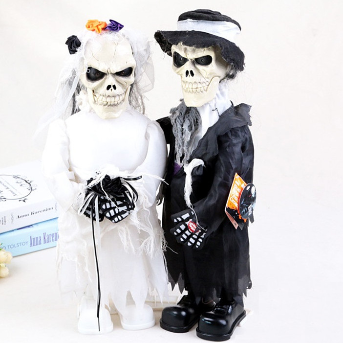 Halloween Party Toys Married Coupes Skull Ghost and Sexy Witches