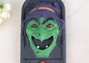 Skull Witch Doorbell
