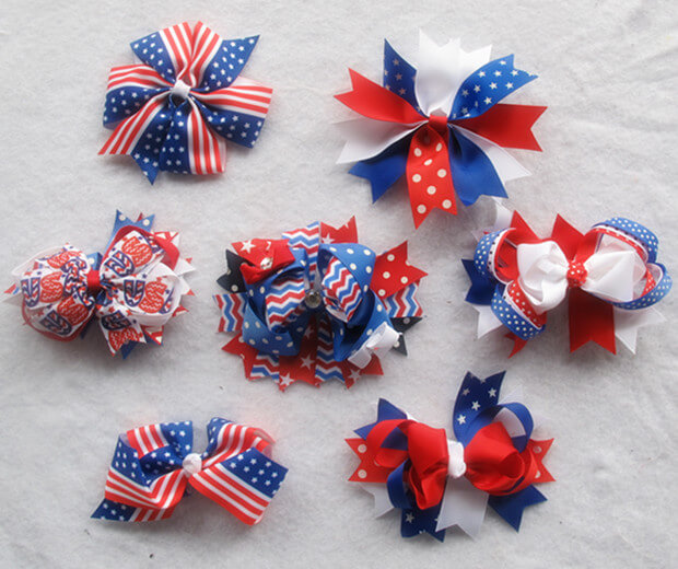 Multi-style USA Flag Baby Headband Party Patriotic Hair Accessories