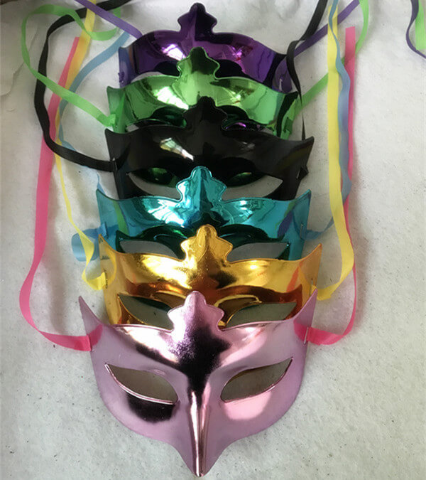 Happy New Year Party Masks