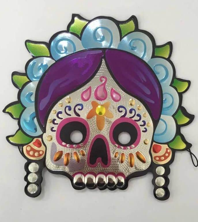 The Day of Dead Eye Masks-Half Face Mask