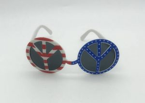 Patriotic Glasses USA National Holiday Party Accessories