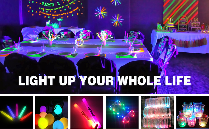 Led Light Up Shoelace Green Party Fun Party Favor Supplies