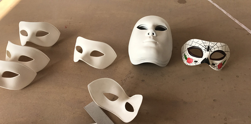 DIY Blank Masks