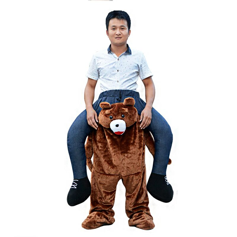 Carry Me Bear Animal Mascot Costumes