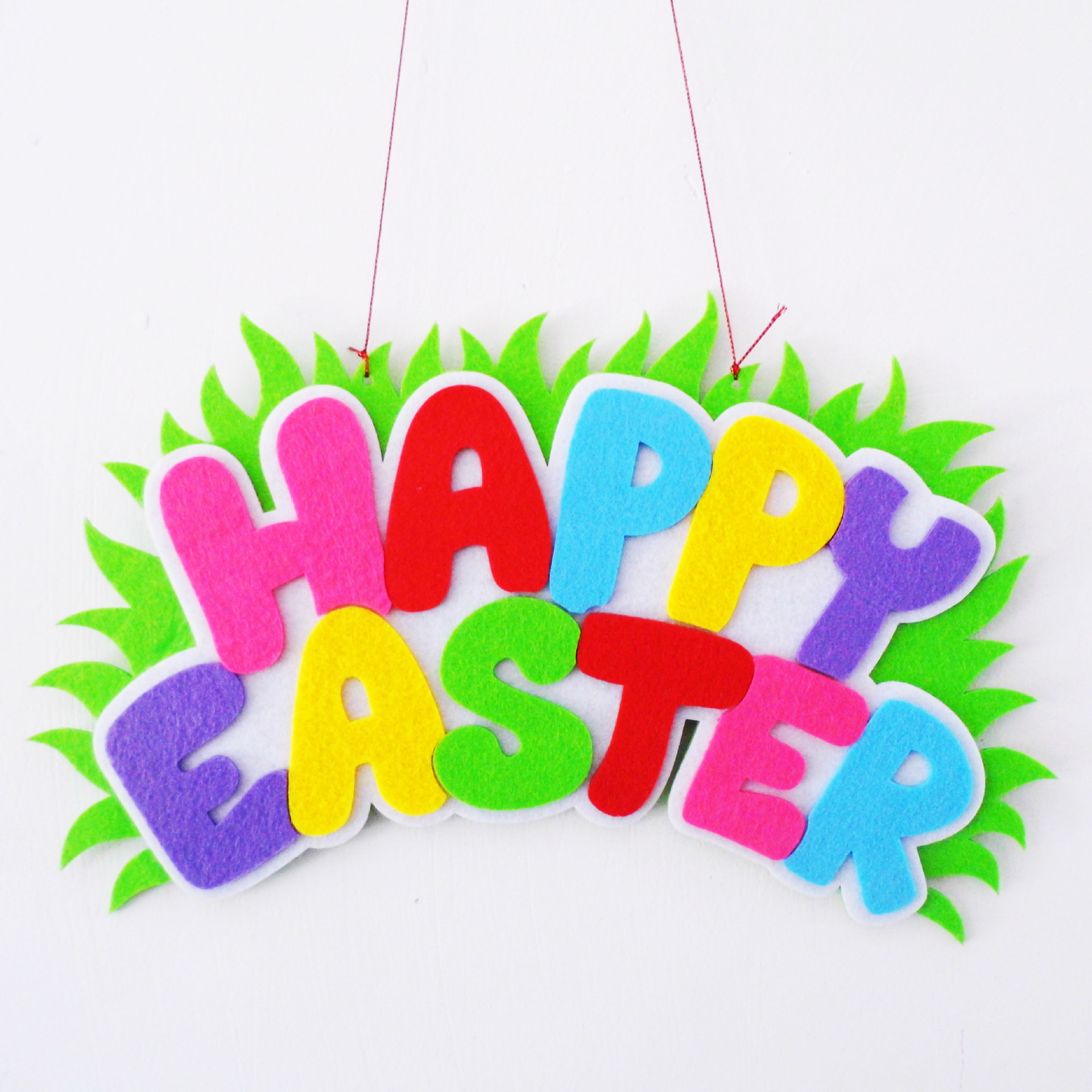 Easter Day Wall Deco Party Supplies Happy Easter Day