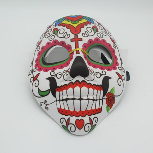 Day of The Dead Carnival Cruise Wear Black Skull Sugar Masks
