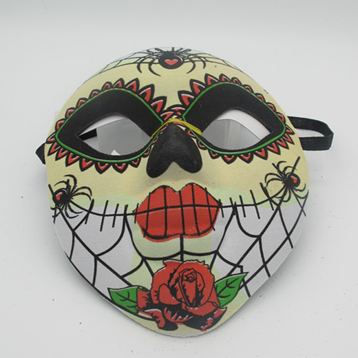 Day of The Dead Carnival Cruise Wear Black Skull Sugar Masks