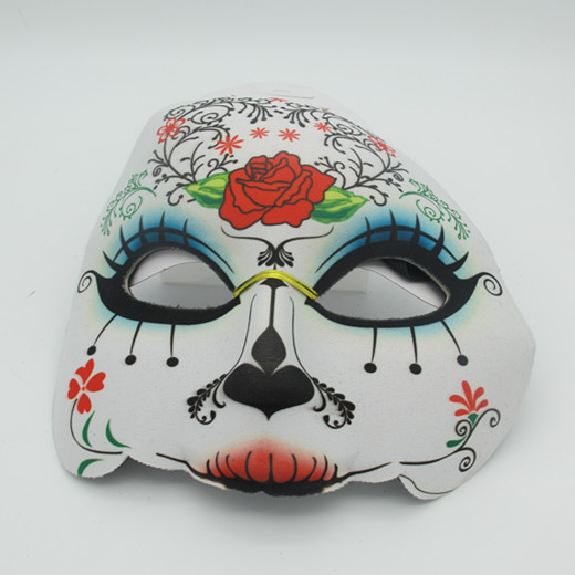 Cruise Discounts Wear Day of the Dead Half Face Masks