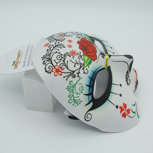 Day of the Dead Half Face Masks