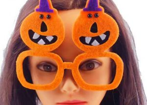 Halloween Glasses Multi-style Party Funny Felt Fireworks Glasses