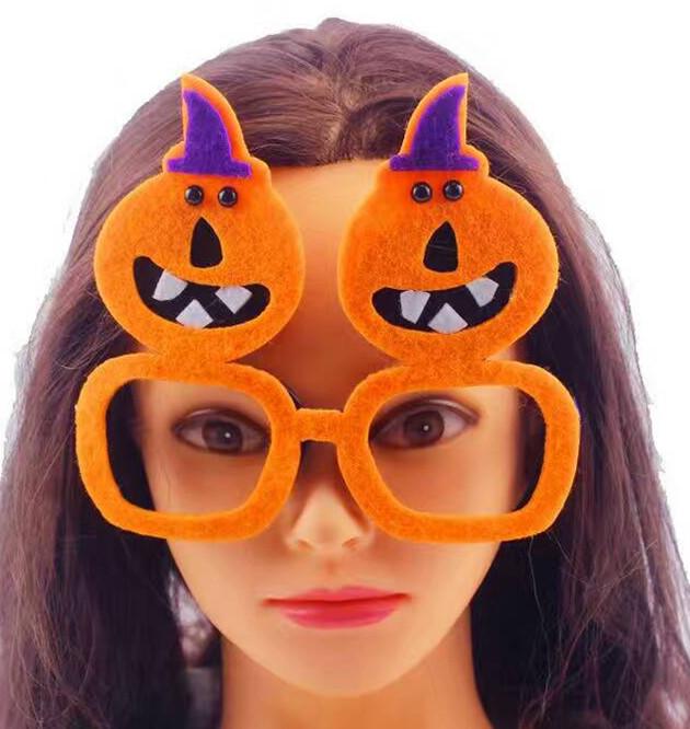 Halloween Glasses Multi-style Party Funny Felt Fireworks Glasses