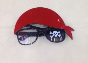 Party Costume Glasses Pirate Glasses