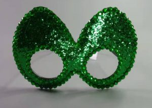 Novelty Green Eye Mask Glasses Christmas Party Glasses