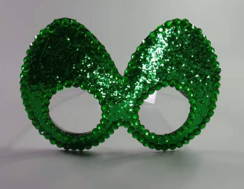 Novelty Green Eye Mask Glasses Christmas Party Glasses