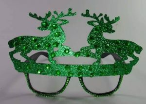 Christmas Eye glasses Reindeer Glasses Xmas Party Supplies