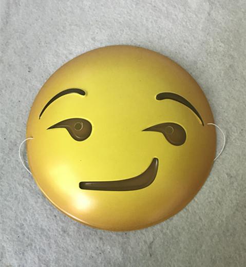 Happy New Year Masks Multi-expression Happy Emoji Masks