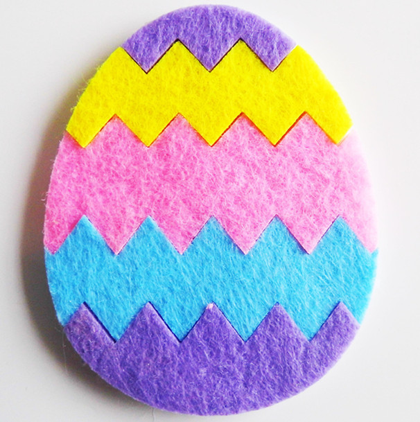 Non Woven Easter Decoration Easter Egg Home Decoration