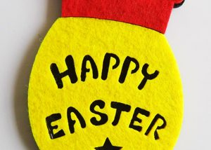 Happy Easter Day Easter Wall Home Deco Easter Party Favor