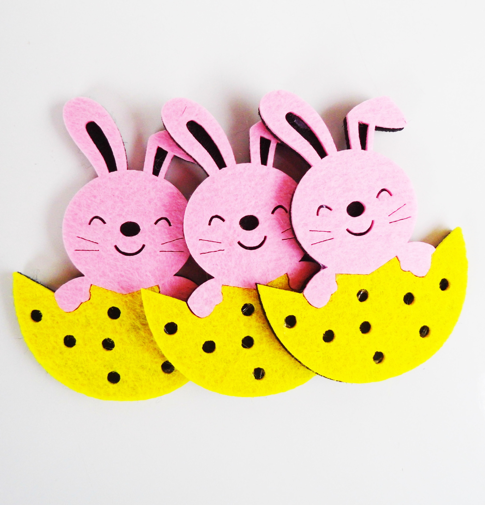 Non Woven Easter Bunny Rabbit Easter Day Wall Decoration