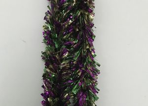 Shred Garland Mardi Gras Foil Garland