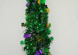 Mardi Gras Metallic Garlands PGG Comedy and Tragedy Garland