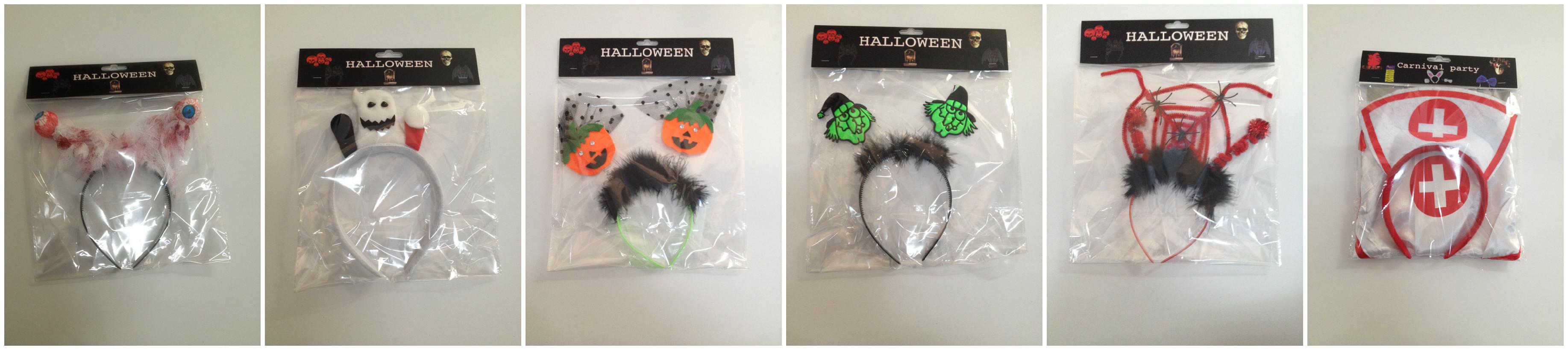 Halloween Scary Headbands Bopper