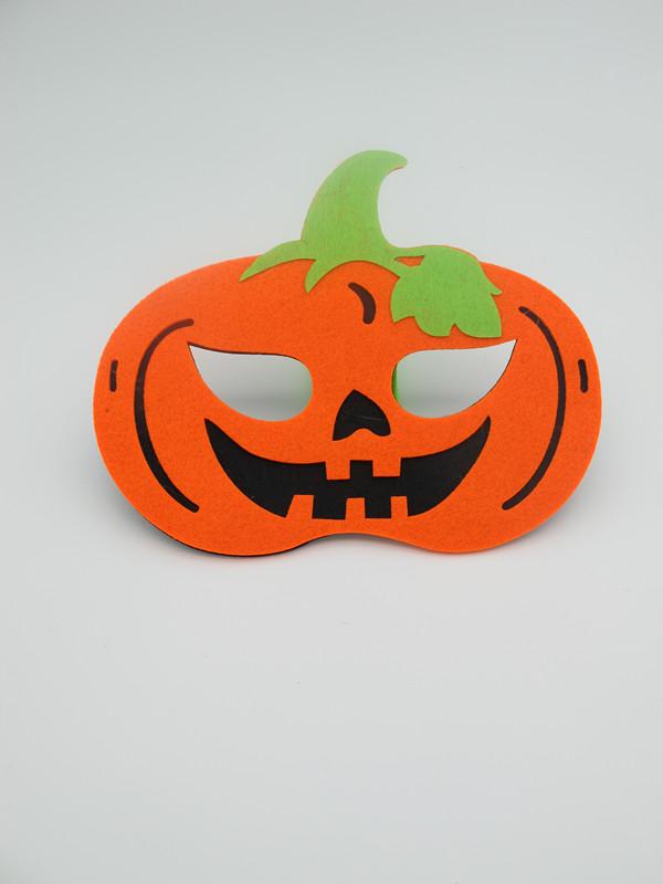 Felt Non Woven Halloween Pumpkin Mask Party Wear