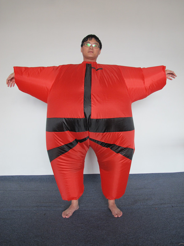 Wholesale Fat inflatable Costumes Sumo Wrestler Adult Inflatable Costume