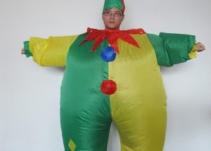 Adult Inflatable Costumes Happy Clown Inflatable Costumes