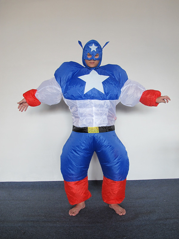 Audlt Costumes Inflatable Costumes Star War Superman Costume