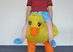 Mascot Inflatable Costumes Duck Inflatable Costumes Party Supplies