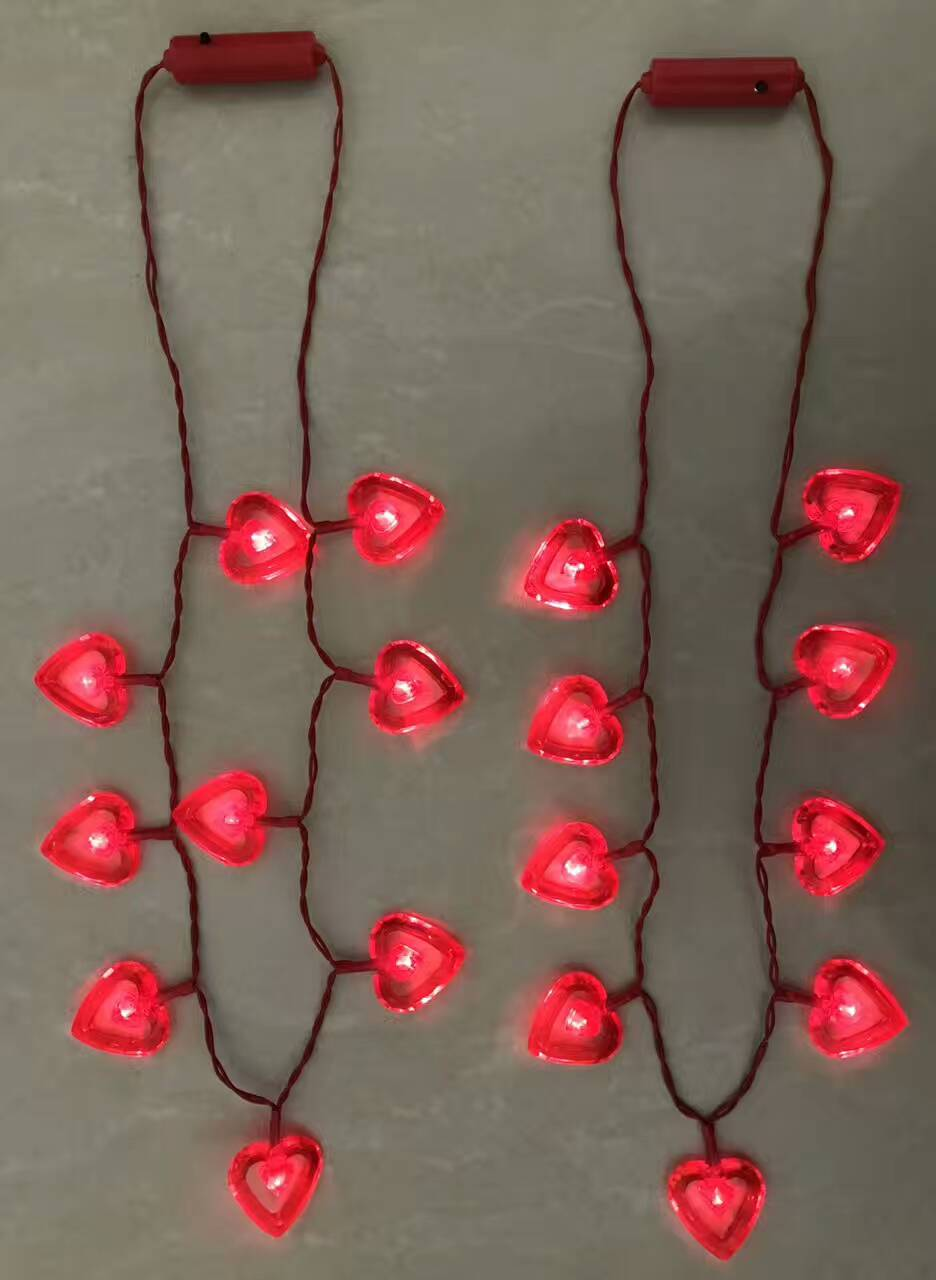 Party Lights LED Lighting Heart-shaped Valentine Party Lighting