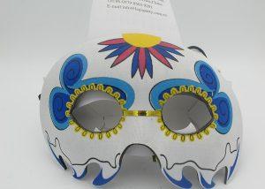 Day of Dead Half Face Eye Masks Party Masks Costume Masks