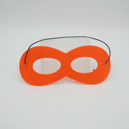 Non-woven Fabric Masks Clothes Multi-color Children Party Masks