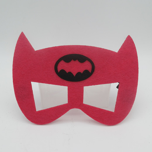 Cosplay Children Eye Mask Superhero Mask Felt Heroes Eye Masks
