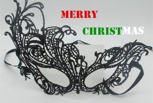 Christmas Party Celebration Ball Masks Black Eye Mask