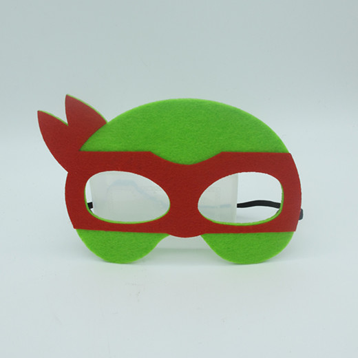 Non Woven Child Masks The Flash Man Child Party Costume Wear