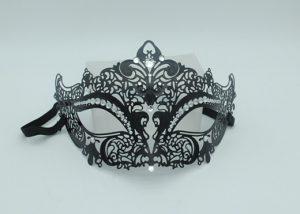 Venetian Masquerade Masks Black Queen Stras Masquerade Mask