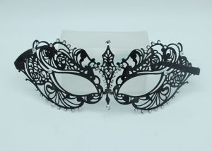 Venetian Masquerade Masks Tigress Black Masquerade Mask