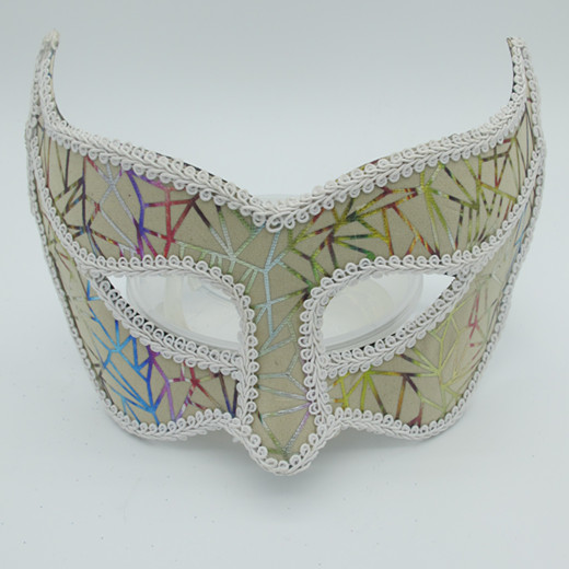 Fabric Mask Halloween Masks Handmade Halloween Masks White Mask