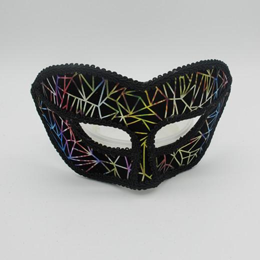 Black Halloween Masks