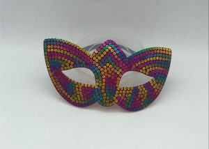 New Year Day Dancing Ball Party Sequin Eye Masks