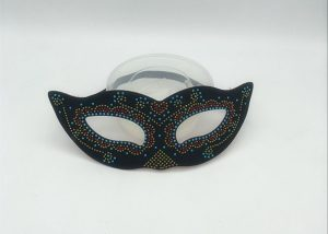 Happy New Year Sequin Masks Eye Masks Ball Eye Masks