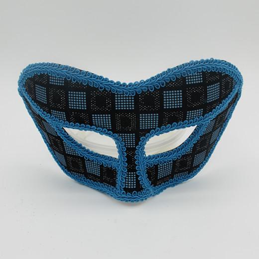 Blue Fabric Halloween Masks