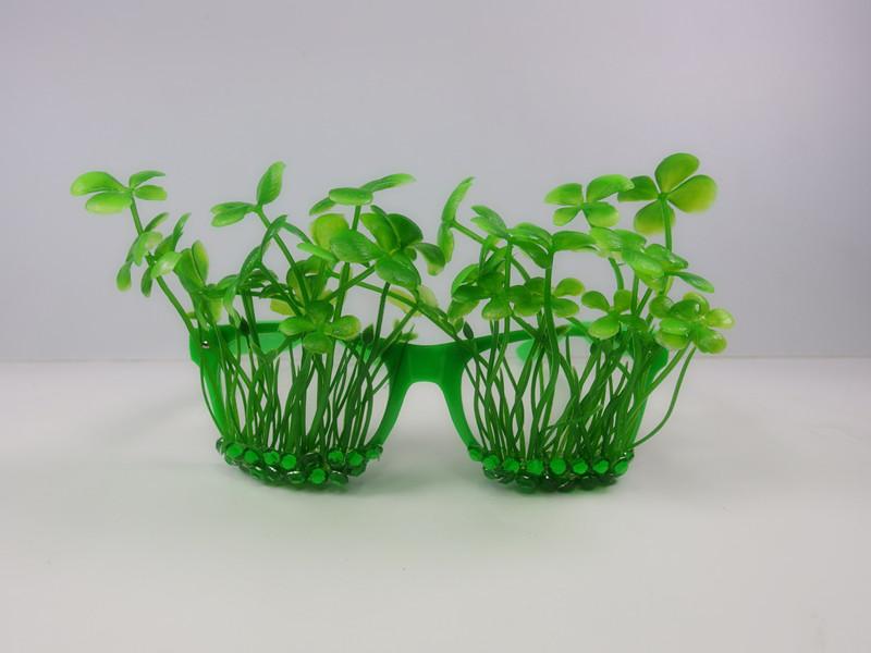 St. Patrick Green Sharmrock Eye Glasses