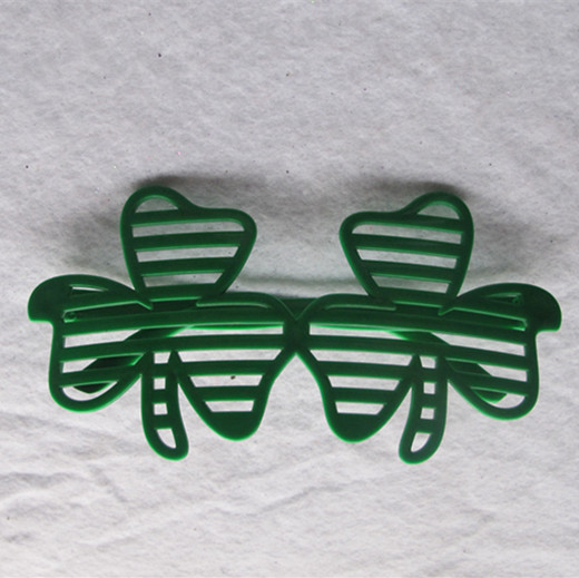 St. Patrick Day Green Shamrocks Window-shades Eye Glasses